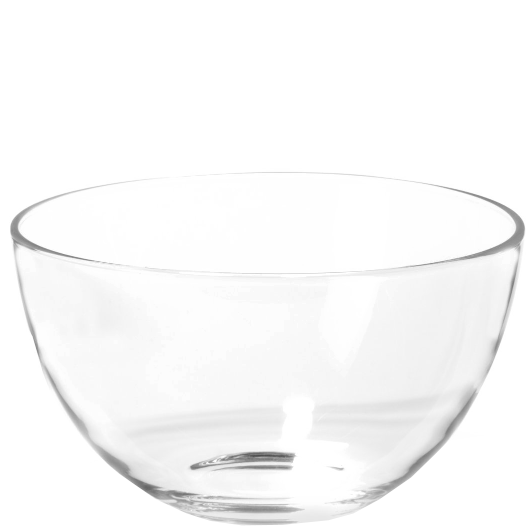 Glasschale, Salatschale 21cm