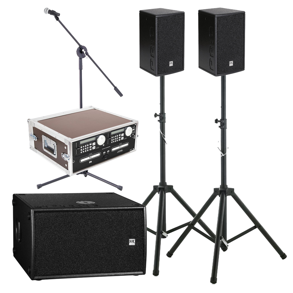 HK Pro mit Bass II-I (Sound & Voice)