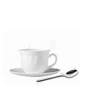 Kaffeegedecke