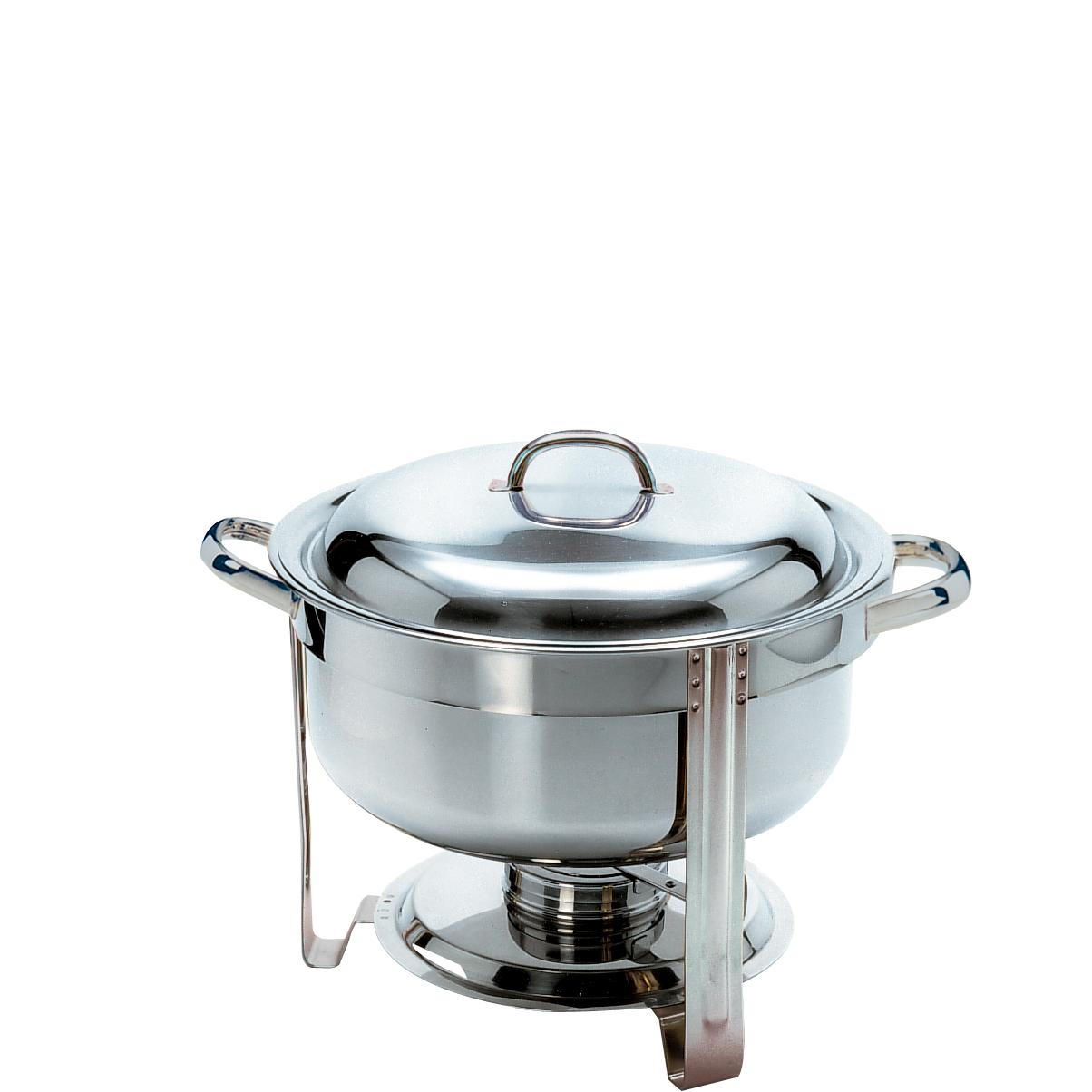 Chafing-Dish, rund (Suppen-Warmhalter)