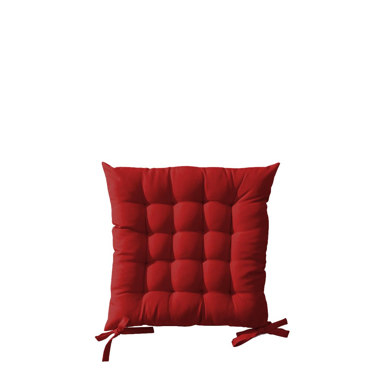 Sitzkissen für Outdoor-Klappstuhl, rot