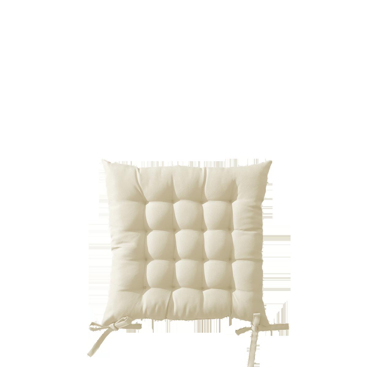 Sitzkissen für Outdoor-Klappstuhl, weiss