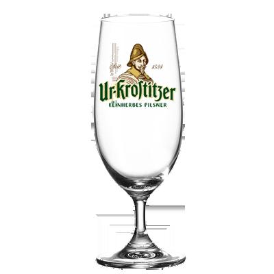 """Bierglas """"Ur-Krostitzer"""" 0,3l"""