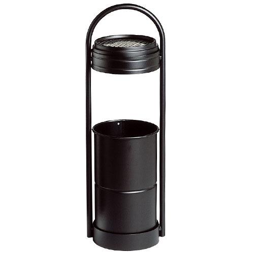 Stand-Aschenbecher, schwarz