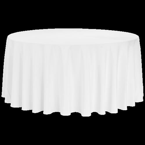 Tischwäsche, rund (d=280cm) für runde 150'er oder 180'er Tische