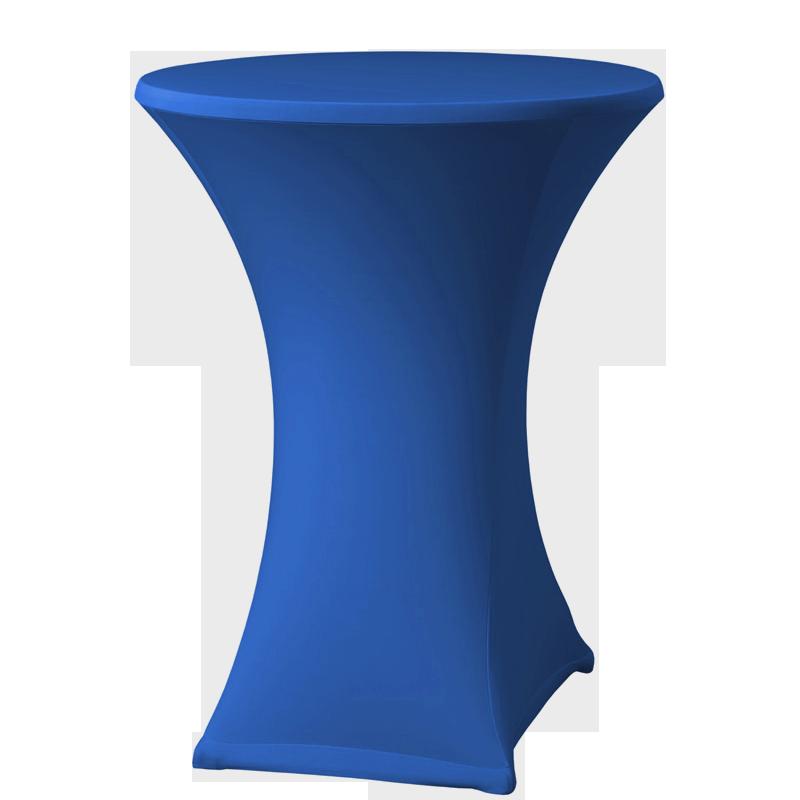 Stehtisch-Stretchhussen, blau