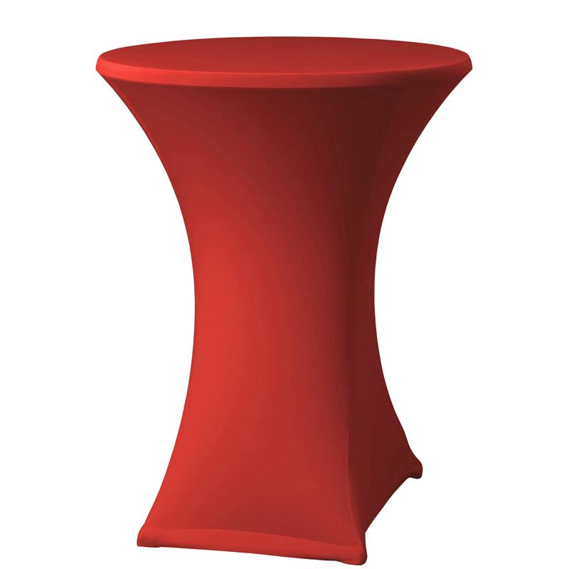 Stehtisch-Stretchhussen, rot