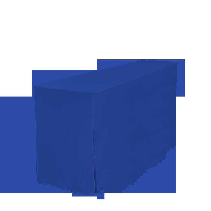 Husse für Garnitur-Tisch, blau