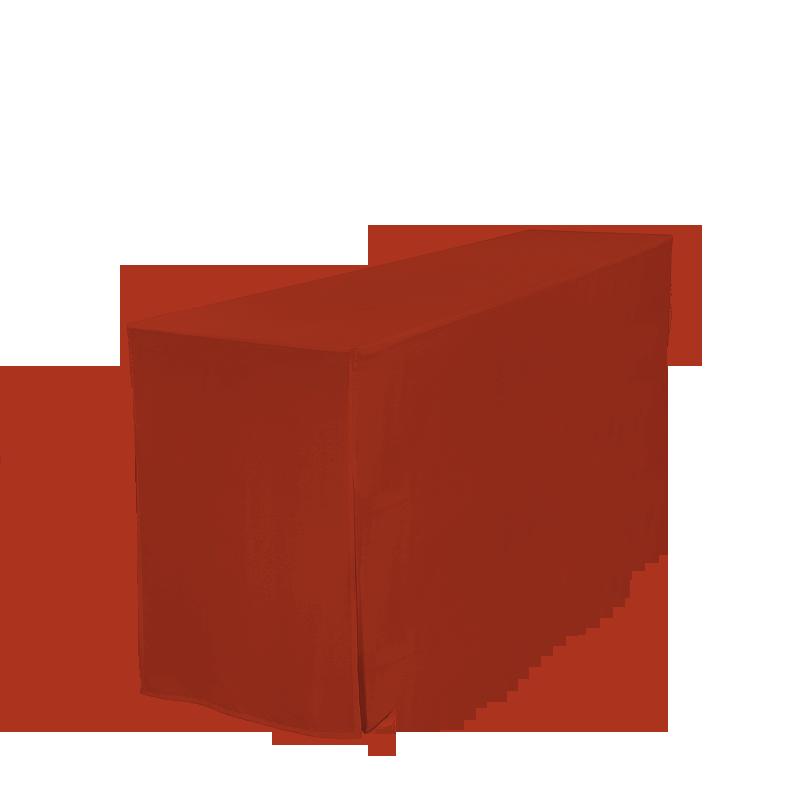 Husse für Garnitur-Tisch, rot