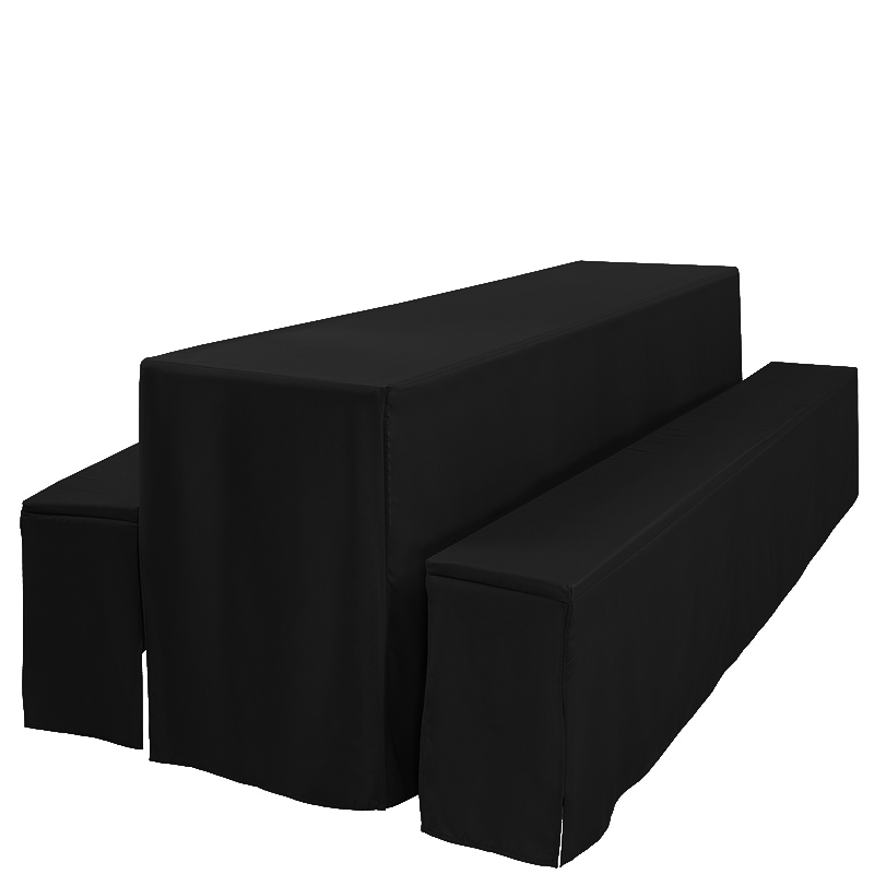 Hussenset - schwarz